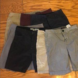 8 Pairs-Boys Name Brand Shorts